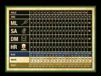 Golf Leaderboard