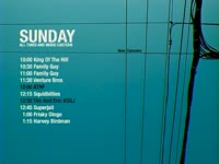 Sunday Schedule Cables