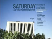 Saturday White Bldg Schedule