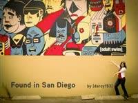 Found in San Diego Mural