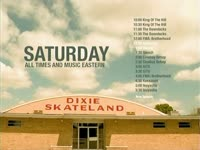 Saturday Schedule Dixie