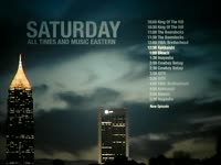 Saturday Schedule Lit Bldgs