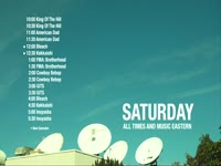 Saturday Sched Sat Dishes Roof