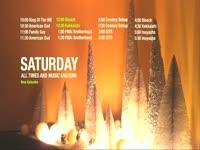 Saturday Schedule Ornaments