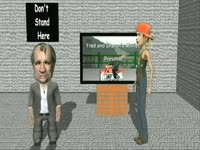 Retro CG: Don't Stand Here