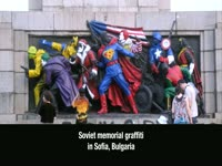 Soviet Memorial Graffiti