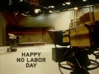 Happy No Labor Day - TV Studio