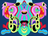 Color Masks Morphing