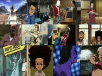 Boondocks Looped Clip Collage