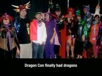 Dragon*Con had Dragons