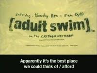 Adult Swim Bag