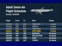 Flight Trak Schedule