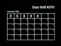 Days Until KOTH