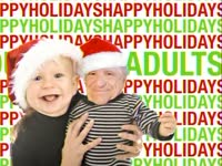 Holidays: Baby and Grandpa