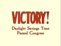 Victory! DST