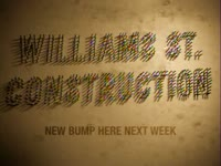 Williams St. Construction