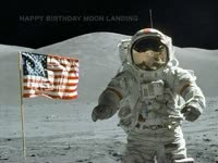 Moon Landing B-Day