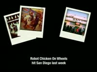RC on Wheels Polaroids