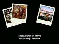 RC on Wheels Polaroids