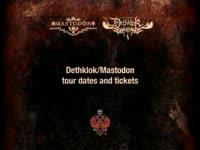 Mastodon/Dethklok Tour 2