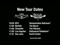 Dethklok New Dates 2009 1