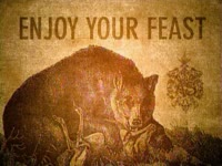 Enjoy Your Feast - Bear