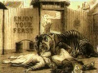 Enjoy Your Feast - Tiger