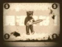 Bear with Chainsaw Film