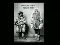 Holidays: Frontier Santa