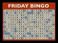 Friday Bingo