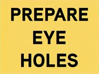 Prepare Holes for Input