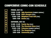 Competition in Comic-Con