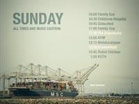 Sunday Schedule Freighter