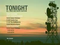 Tonight Schedule Antennas