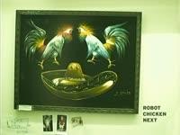 Robot Chicken Next Painting