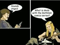 Dethklok Comic Chat