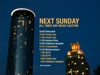 Sunday Schedule Lit Needle Bldg