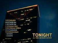 Tonight Schedule Lit Bldg