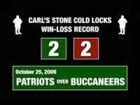Carl Stone Cold Locks Avg