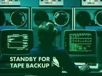 Standby for Tape Backup