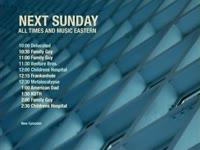 Sunday Schedule Blue Diamonds