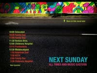 Sunday Schedule Mural
