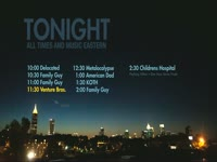 Tonight Schedule Night Bldg