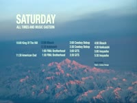 Saturday Sched Snowy Mountains