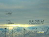 Sunday Schedule Snowy Hills