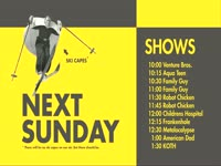 Sunday Schedule Ski Capes