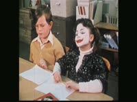Clown Kids: Girl in Class