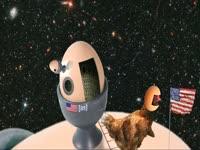 Space Landing Hens