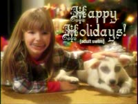 Holidays - Girl and Dog