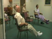 Camo: Seniors Leg Exercise